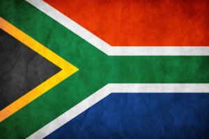 Hunting in South Africa flag