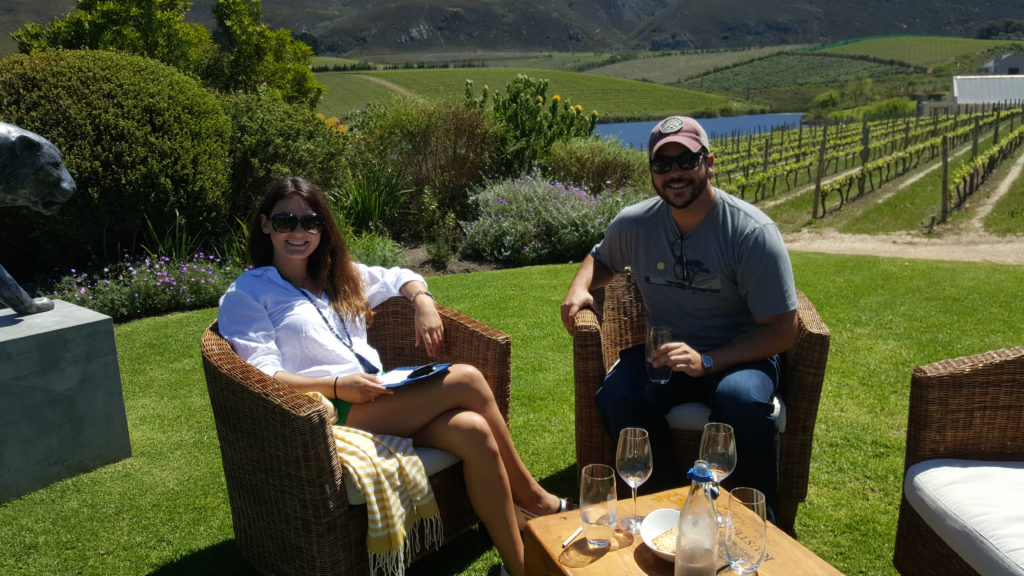 South African wines hunting safari