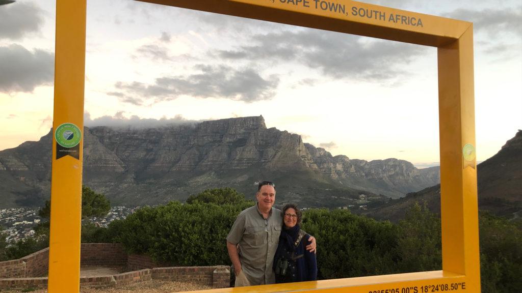 visit table mountain during safari